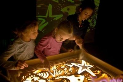 игры с песком для дошкольников