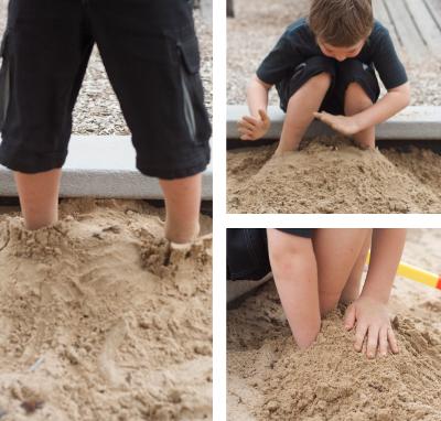 игры с песком и водой