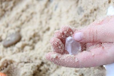 игры с песком в детском саду