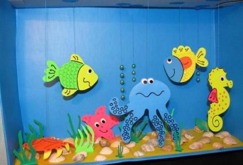 поделки для дошкольников море