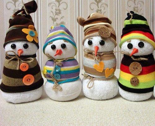 Поделки снеговика своими руками видео фото 653