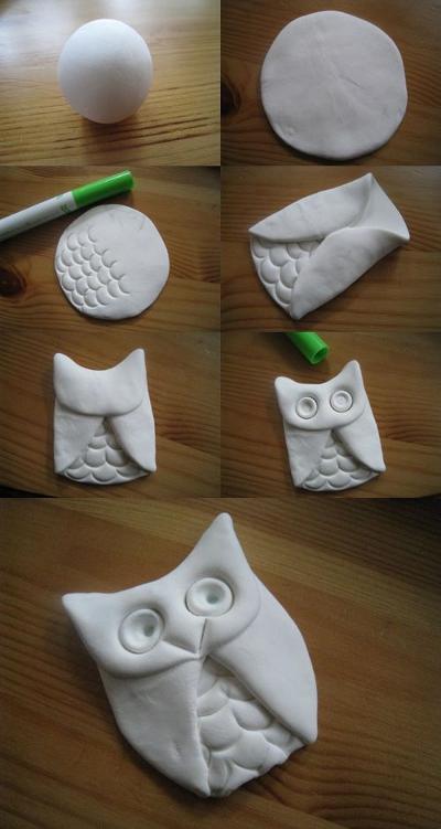 Фигурки из соленого теста с пошаговыми инструкциями