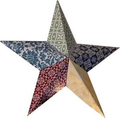 Украшения звёзды своими руками