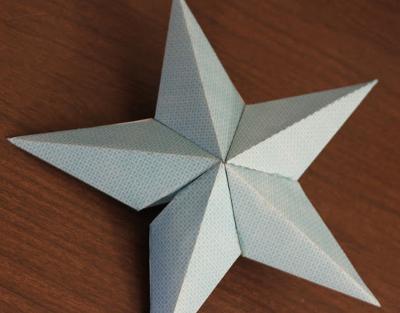 Сделать звезду своими руками из бумаги