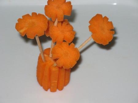 поделки из овощей и фруктов фото
