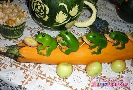поделки своими руками из овощей