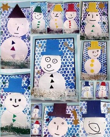 рисунки зима