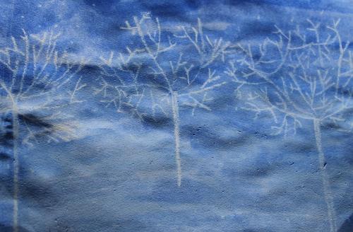 зимний пейзаж рисунки
